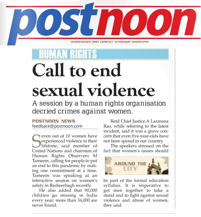 tameem-speech on sexual violence -postnoon news