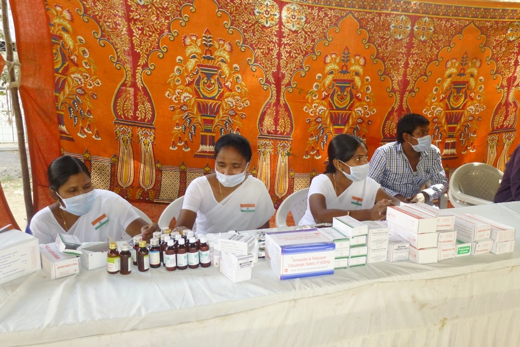 M Tameem Chairman hro  organised swine flu awareness medical camp 3