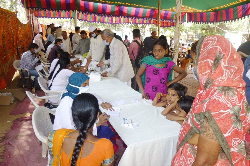 M Tameem Chairman hro  organised swine flu awareness medical camp 8